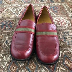 Joan and David leather loafers